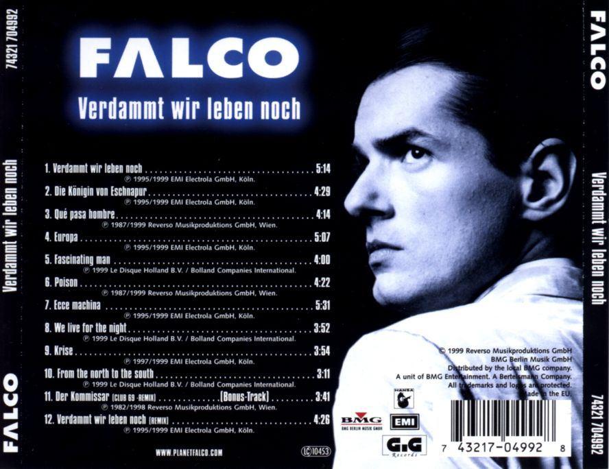 Bildergebnis für falco verdammt wir leben noch